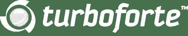Turboforte logo white